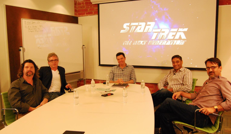 "Burnett, Lay Jr & Braga talk ""Inside the Writers\' Room"" | TrekCore ..."