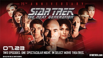 Fathom Events - TNG 25th Anniversary