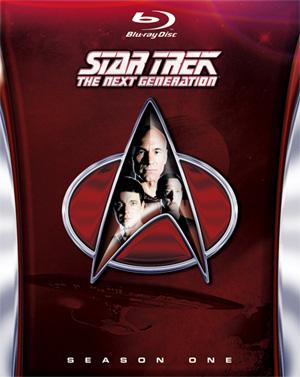 Finalised Cover Artwork - TNG Season 1 Blu Ray