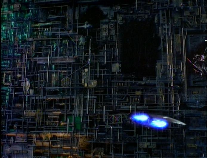 Resultado de imagem para borg cub regeneration q who