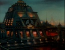 The Klingon hall from 'Sins of the Father'