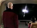 Picard gazes out at the Kataan probe in 'The Inner Light'