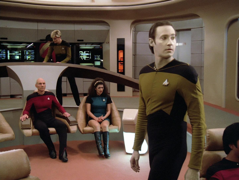 Star trek the next generation images tng crew hd wallpaper and - 1x01 2 Encounter At Farpoint Trekcore Star Trek Tng